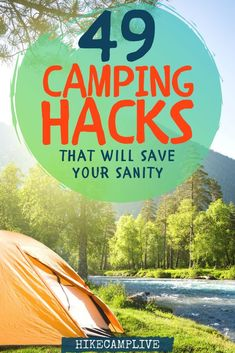 The Ultimate List of Camping Tips that you need to know before you begin your adventure. Use these camping tips to ensure your camping trip is a success. First Time Camping, Family Camping, Camping With Kids, Camping Glamping, Camping Hacks, Camping Ideas, Diy Camping, Camping Guide, Travel Hacks