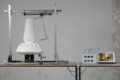 """Life, Pattern, Objects"" by Bram Armendt graduate Design Academy Eindhoven, Netherlands Interactive Installation, Installation Art, Colani, Design Maker, Digital Fabrication, Ex Machina, Design Process, Industrial Design, 3d Printing"