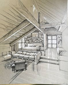 21 Ideas Furniture Sketch Design Sketchbooks For 2019 Section Drawing Architecture, Interior Architecture Drawing, Interior Design Sketches, Facade Architecture, Sketch Design, Drawing Interior, Architecture Drawing Sketchbooks, Classical Architecture, Interior Paint