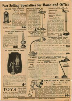 1933 Ad Adjustable Desk Lamps Faries Combination Aquarium | eBay 1930s Decor, Adjustable Desk, Antique Lighting, Bright Ideas, Work Lights, Vintage Lamps, Industrial Chic, Aquarium, Decorations