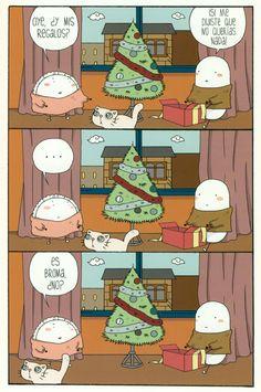 Ilustración de Ana Oncina para su obra Una Navidad con Croqueta y Empanadilla.