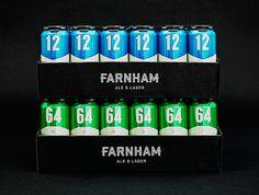 Brasserie Farnham  Branding  Emballage / Packaging   lg2boutique