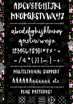 Fetching is a modern brush font made from hand brushed lettering | angiemakes.com
