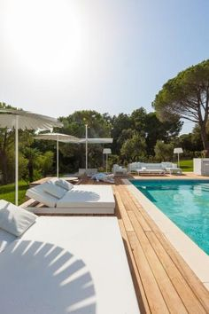 Villa in Grimaud - France.  Realization 't Huis van Oordeghem - Belgium.