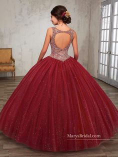 Beaded A-line Quinceanera Dress by Mary's Bridal Princess 4Q511 - ABC Fashion
