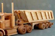 Caminhão Brinquedos Planos