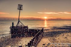 "This image of sunrise at Caister in Norfolk won a ""highly commended"" award in the Societies March Landscapes competition Image Photography, Landscape Photography, Norfolk, Competition, Sunrise, Awards, Landscapes, March, Gallery"