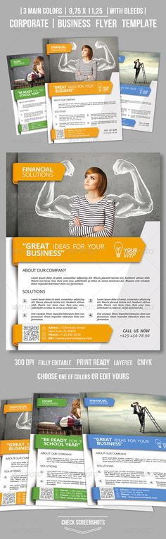Clean Corporate Business Flyer Template PSD | Buy and Download: http://graphicriver.net/item/clean-corporate-business-flyer-vol3/8730766?WT.ac=category_thumb&WT.z_author=OrANGEL&ref=ksioks