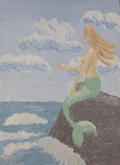 @Saatchiart #Saatchiart  #Fresco #art #Mural #expressionism #modernism #textured #paintings #creative #painting #artists #color #Cherepanova #Contemporaryfresco  #fantasy #girl #woman #nude #Mermaid #undine #underseaworld #underwater  #seascape #sea #ocean #water #nature #mountains