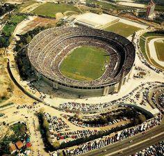 Estadio Da Luz - Lisbon (1954-2003) Record attendance 135,000: Benfica vs. Porto (1987)