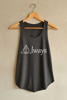 Always Shirt Harry Potter Shirts Tank Top Women Size S M L
