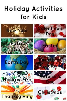 Find all of our holiday activities for kids here in one place.