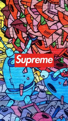 Supreme Graffiti Wallpaper IPhone - Free Wallpaper | Download Free Wallpapers