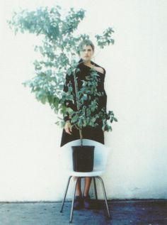 Stella Tennant in Maison Martin Margiela photographed by Mark Borthwick.
