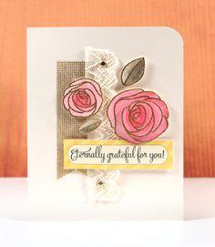 Simon Says Stamp Blog!: Eternally Grateful For You (May 2013 Card Kit)