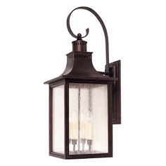 Savoy House Ellen Outdoor Wall Lantern in English Bronze Size: