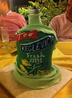 Keglevich Vodka Fresh Mint... the Cake :)