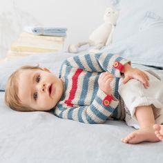 Eddie trøye mnd i Phil Rustique Crochet Basket Pattern, Sweater Making, Baby Boy Newborn, Baby Knitting, Sweaters, Baby Knits, Catalogue, Products, Girls