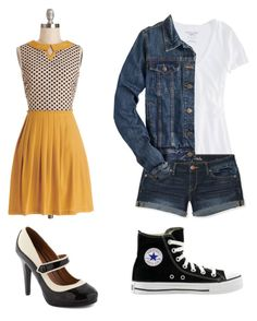 """""""Socs and Greasers"""" by oldiesyay ❤ liked on Polyvore featuring Dear Creatures, American Eagle Outfitters, Aéropostale, J.Crew, Converse, BB Dakota, TheOutsiders, Greasers and Socs"""