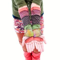 I want these is shades of purple Gypsy Fingerless Gloves
