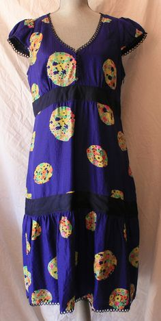 """Anthropologie by Maeve """"Lighthouse"""" Floral dress Size 12"""