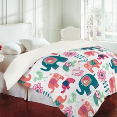 Wendy Kendall Helly Friends Duvet Cover $229.00