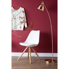 Lampadaire design Blush cuivre - zuiver ZUIVER