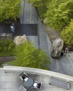 Keene State Science Center Courtyard by Dirtworks PC