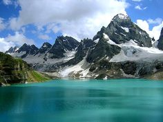 Chitta Katha Lake in Shounter, Neelum Valley Azad Kashmir, Pakistan