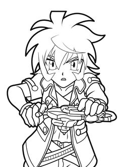 Free Printable Beyblade Coloring Pages For Kids Party Ideas