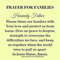 Pin By James On Jesus Prayers Prayer For Family God