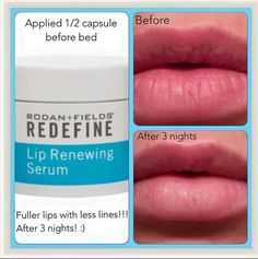 I love this lip serum and use it in the morning and at night!! Loving the results and change in my lips!!   To shop:  www.ehberry.myrandf.com elizabethhberry@gmail.com 918-407-6756