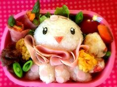 Claira Bento!!!! So cute!! Emilee would love this!