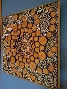 Создаём произведения искусств из обрезков дерева