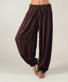 Love this Choco Soft Pants by Aller Simplement on #zulily! #zulilyfinds