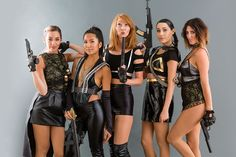 Need a group costume? Follow this tutorial to dress like Bad Blood gang for Halloween.