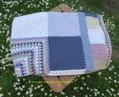 Deken - Blanket - Afghan - Throw door www.cronelia.nl  Free pattern at www.cronelia.nl/patronen (Nederlands + English)  **SOLD**    **VERKOCHT**