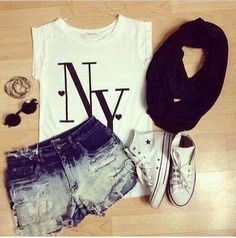 Spring/summer outfit.
