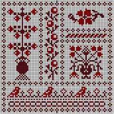 Stofnest-13 cross-stitch - free