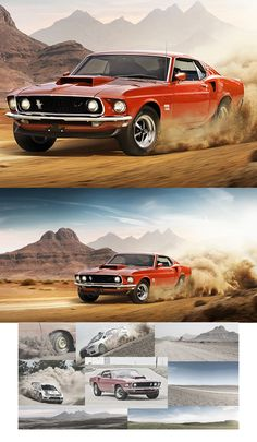 Muscle Racing Manipulation & Retouching #photomanipulation #retouching #photography