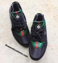 Huaraches de Gucci inspiró Nike personalizados Cosas Para Comprar 4f4a41d2101