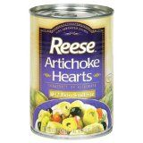 Hot Artichoke Dip recipe - Here's an easy, four-ingredient hot artichoke dip recipe that you serve up nice and warm with tortillas or snack crackers. It's perfect for football game half-time... If you don't know how to work with fresh artichokes, it's OK to used canned. YAY!