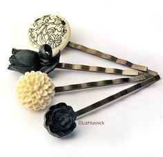 Toile Bobby Pins - Must Have
