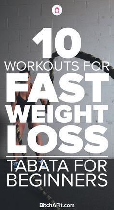 Tabata workouts are a great way to burn fat and lose weight in a short period of time. These tabata workouts for beginners are a great way to get started with tabata exercises and cardio. #weightlossbeforeandafter