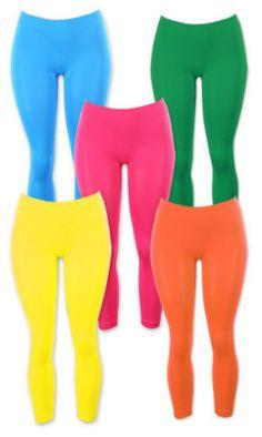neon leggings <3 <3 <3