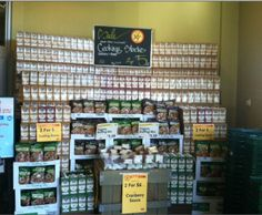 More than Gourmet Cooking Stocks display at Whole Foods!
