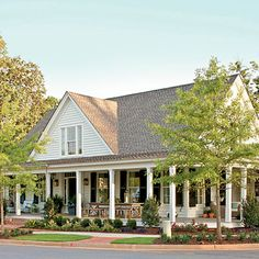 Top 12 House Plans of 2014 | Farmhouse Revival House Plan