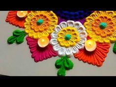 42 Ideas Fashion Design Wallpaper Art Deco For 2019 Easy Rangoli Designs Videos, Easy Rangoli Designs Diwali, Rangoli Designs Latest, Latest Rangoli, Rangoli Designs Flower, Free Hand Rangoli Design, Rangoli Border Designs, Small Rangoli Design, Colorful Rangoli Designs