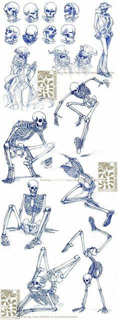 Natural history  #skeleton  #poses skeleton poses, skeleton costume, dancing skeleton, skeleton Drawing Poses, Drawing Sketches, Art Drawings, Skeleton Drawings, Sketching, Drawing Ideas, Figure Drawings, Tattoo Sketches, Drawing Tips