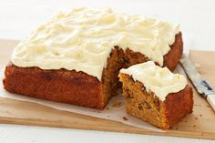 Cooked quinoa is the secret ingredient in this fabulously moist carrot cake.